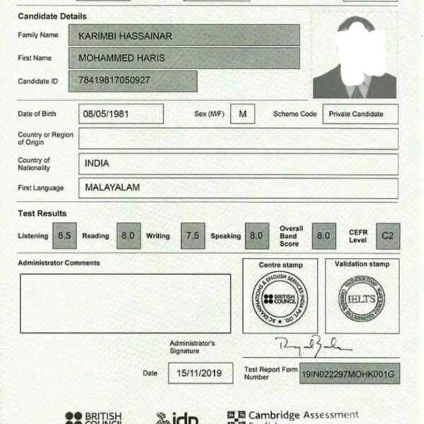 buy authentic ielts certificate online