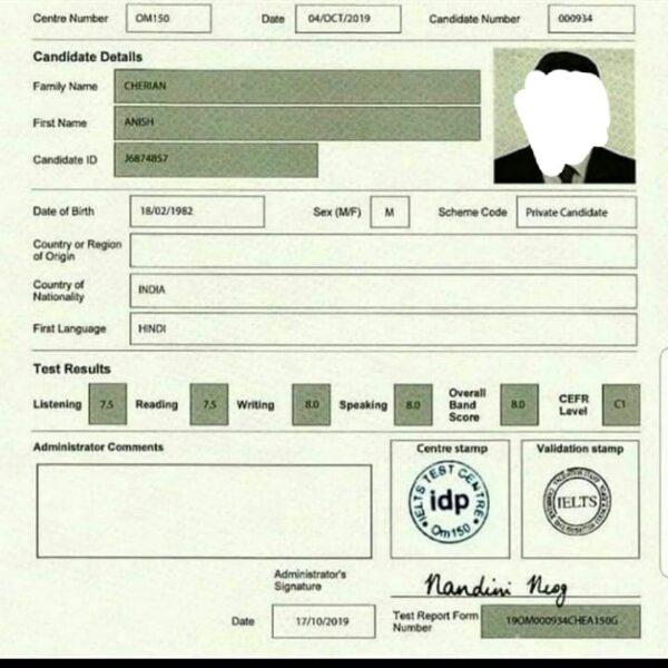 buy quality ielts certificate online