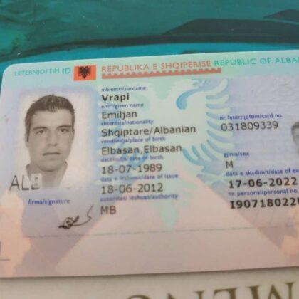 buy quality albanian id online