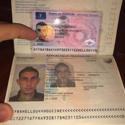 Buy French Driver's License Online