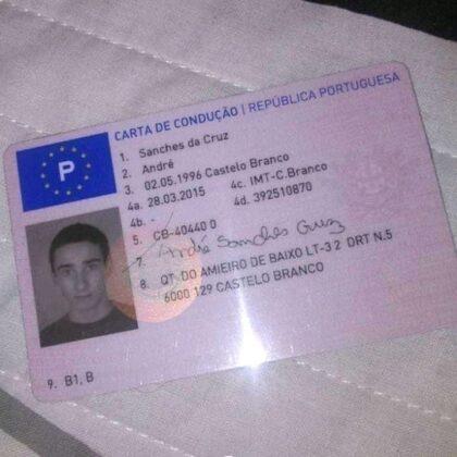 buy fake portuguese driver's license