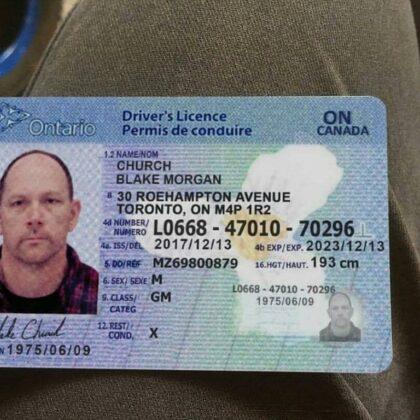 buy ontario drivers license online