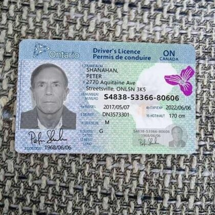 buy canadian drivers license online