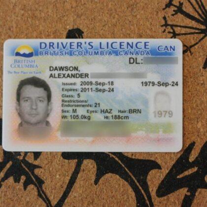 buy British Columbia ID online