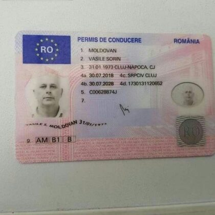 buy quality romanian drivers license