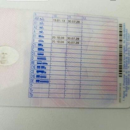 buy real quality romanian drivers license