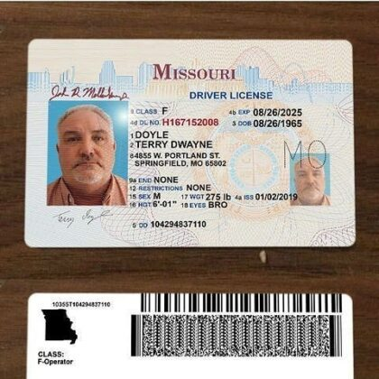 buy missouri drivers license online