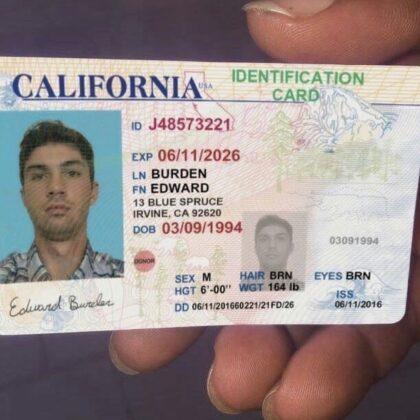 Buy California ID Card Online