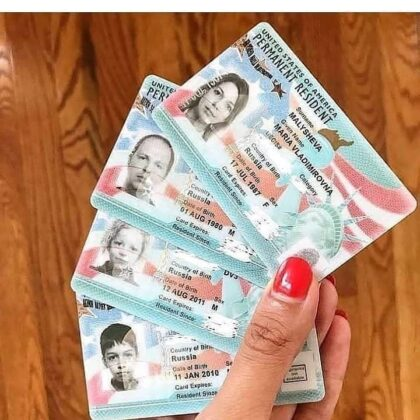 Buy US Permanent Resident CArd