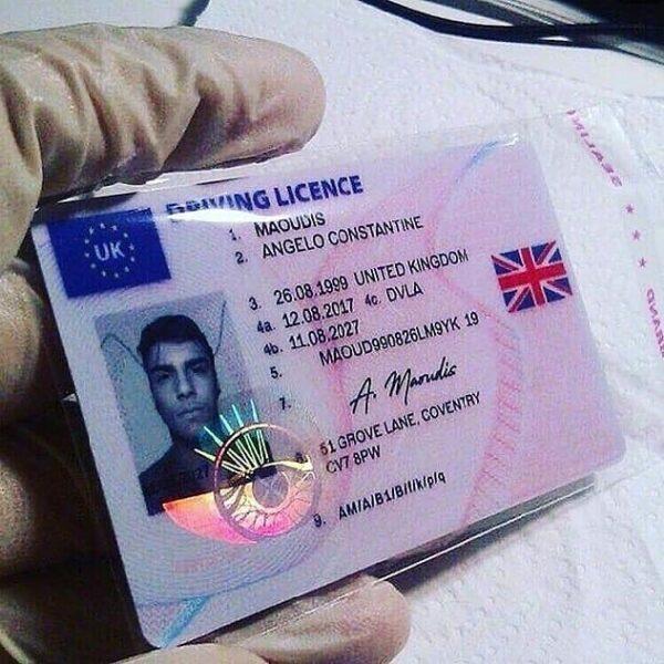 buy uk drivers license