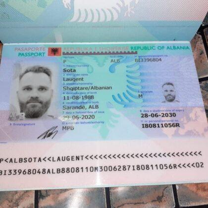 Buy Fake albanian passport online