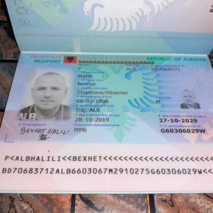 buy quality fake albanian passport online