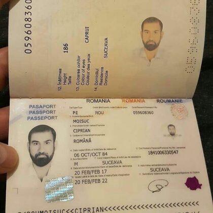 buy fake romanian passport online