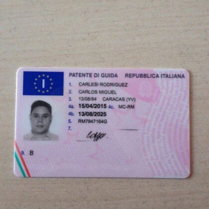 buy fake italian drivers licence online