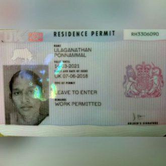 buy UK Permanent Residence Online
