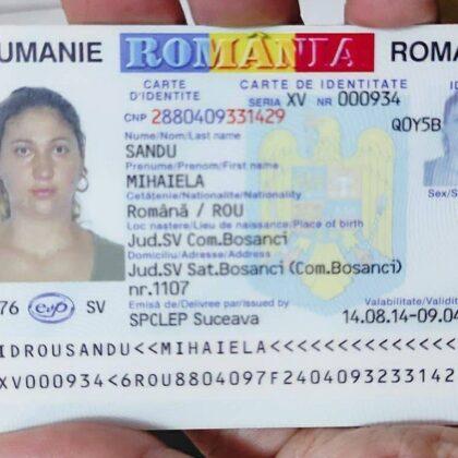 buy top quality romanian ID