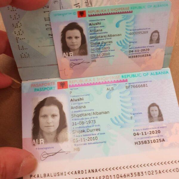 buy fake albanian id online