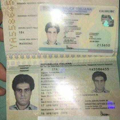 buy fake italian passport online