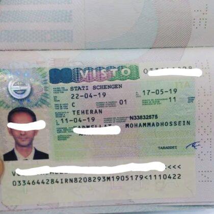 fake italian visa for sale