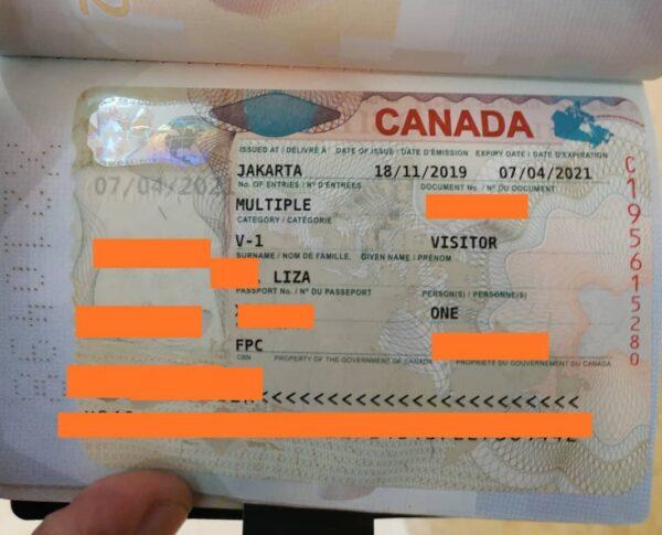 fake canadian visa for sale