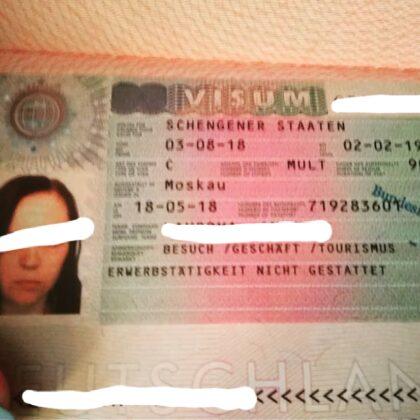 buy fake german schegen visa