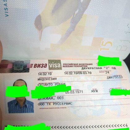 fake russian visa for sale