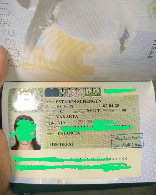 fake spanish schengen visa for sale