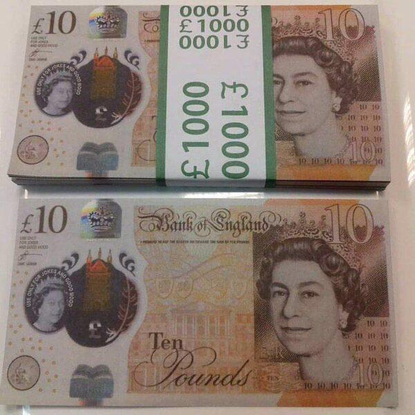 £1000 pounds counterfeit