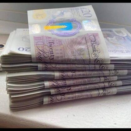£5000 pounds counterfeit