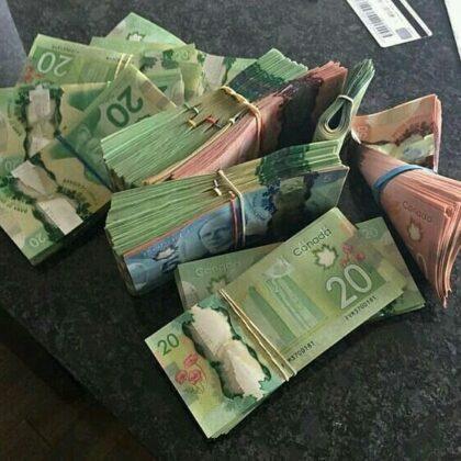 C$100.000 Counterfeit